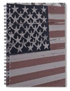 American Flag Shop Spiral Notebook