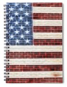 American Flag Usa   Spiral Notebook