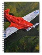 American Flyer Spiral Notebook