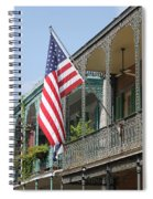 American French Quarter Spiral Notebook