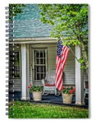 American Front Porch Spiral Notebook