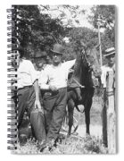 American Gang, C1900 Spiral Notebook