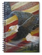 American Glory Spiral Notebook