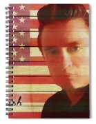 American Icon Johnny Cash Spiral Notebook