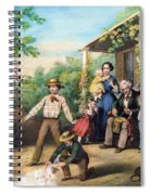 American Independence 1859 Spiral Notebook
