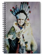 American Indian Girl Spiral Notebook