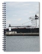 American Integrity Ship Spiral Notebook