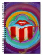 American Kiss Spiral Notebook
