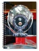 American Lafrance Vintage Fire Truck Gas Cap Spiral Notebook
