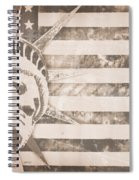 American Liberty Patriot Spiral Notebook