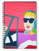 American Mask Spiral Notebook