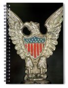 American Metal Eagle Spiral Notebook
