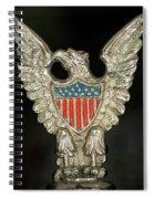 American Metal Eagle Spiral Notebook