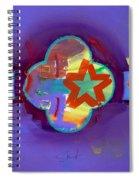 American Neon Spiral Notebook