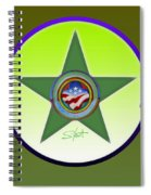 American Olive Spiral Notebook