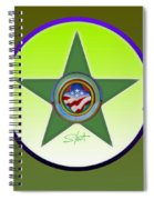 American Olive Spiral Notebook