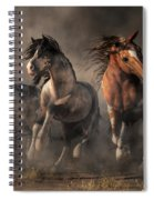 American Paint Horses Spiral Notebook