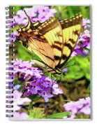 Yellow Eastern Tiger Swallowtail Series Spiral Notebook