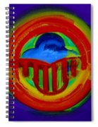 American Power Button Spiral Notebook