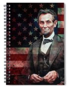 American President Abraham Lincoln 01 Spiral Notebook