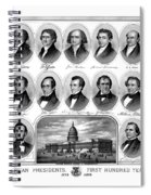 American Presidents First Hundred Years Spiral Notebook