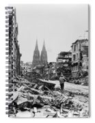 American Soldiers In Cologne, Germany Spiral Notebook