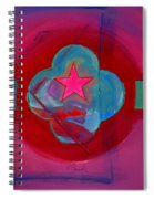 American Spiritual Decal Spiral Notebook