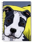 American Staffy Spiral Notebook