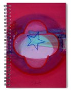 American Star Of The Sea Spiral Notebook