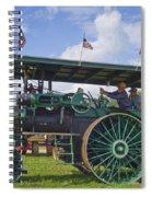 American Steam Roller Spiral Notebook