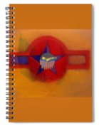 American Sub Decal Spiral Notebook