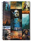 American Tapestry Spiral Notebook