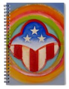 American Three Star Landscape Spiral Notebook