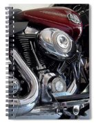 American V-twin Spiral Notebook