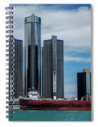 American Victory At Detroit Spiral Notebook