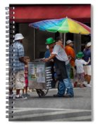 Americana - Mountainside Nj - Buying Ices  Spiral Notebook