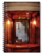Americana - Movies - Ticket Counter Spiral Notebook