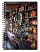 Americana - Store - Corner Grocer  Spiral Notebook