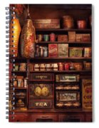 Americana - Store - The Local Grocers  Spiral Notebook