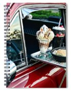 Americana - The Car Hop Spiral Notebook