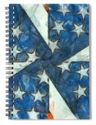 Americana Abstract Spiral Notebook