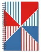 Americana Pinwheel Spiral Notebook