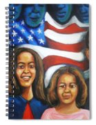 America's First Family Spiral Notebook