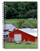 Americas Heartland Spiral Notebook