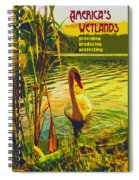 Americas Wetlands Spiral Notebook