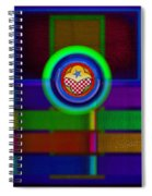 Amerikamura Twilight Spiral Notebook