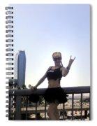 Rocker Girl Sofia Spiral Notebook