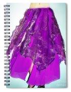 Ameynra Fashion - Iris Skirt Spiral Notebook