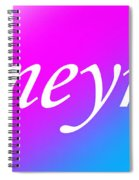 Ameynra - Logo 003 Spiral Notebook
