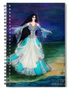 Ameynra. Night Dance Before Wedding Spiral Notebook